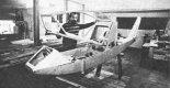 """Kadłub samolotu J-2B """"Polonez"""" w trakcie budowy. (Źródło: Skrzydlata Polska nr 20/1988)."""