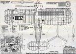 "Gloster ""Gladiator"", plany modelarskie. (Źródło: Modelarz nr 3/1979)."