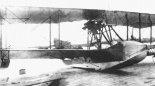 Latająca łódź rozpoznawcza Grigorowicz M-15 lotnictwa rosyjskiej Floty Bałtyckiej. (Źródło: archiwum).