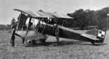 Samolot szkolny Hanriot H-28 polskiego lotnictwa wojskowego. (Źródło: forum.odkrywca.pl).