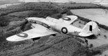 """Samolot szturmowy Hawker """"Hurricane"""" Mk.IV należący do dywizjonu Royal Air Force.. (Źródło: Imperial War Museums)."""