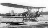 Wodnosamolot Heinkel HD-16 (T.1) szwedzkiego lotnictwa wojskowego. (Źródło: archiwum).