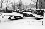 Samolot szturmowy Iljuszyn Ił-2m3 z 3 Pułku Lotnictwa Szturmowego w zbiorach Muzeum Wojska Polskiego w Warszawie. Zima 1945/1946. (Źródło: http://www.polishairforce.pl).