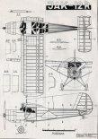 Jakowlew Jak-12R, plany modelarskie. (Źródło: Modelarz nr 8/1955).