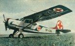 PZL Jak 12A- licencyjny samolot zbudowany w wersji sanitarnej. (Źródło: Skrzydlata Polska nr 1/1965).