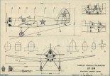 Jakowlew UT-2M, plany modelarskie. (Źródło: Modelarz nr 7/1976).