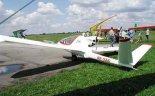 """Samolot J-5 """"Marco"""" podczas zlotu w Turbii w 2001 r. (Źródło: via www.piotrp.de)."""