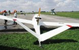 """J-5 """"Marco"""" w widoku z tyłu. Zlot w Turbii w 2001 r. (Źródło: via www.piotrp.de)."""