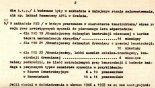 Drugi list Tadeusza Chylińskiego do do Prezesa Zarządu Aeroklubu PRL (brak daty napisania). Strona 2/2. (Źródło: ze zbiorów Rafała Chylińskiego).
