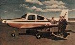 "Prototyp samolotu turystycznego Victa ""Aircruiser-210 CS"". (Źródło: Skrzydlata Polska nr 13/1967)."