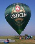 """Balon """"Okocim"""". (Źródło: Ladislav Zápařka """"LZ- przedstawiciel czeskiego przemysłu lotniczego w Polsce"""")."""