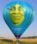 """Balon """"Shrek 2"""". (Źródło: Ladislav Zápařka """"LZ- przedstawiciel czeskiego przemysłu lotniczego w Polsce"""")."""