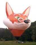"""Balon kształtowy """"Lis"""". (Źródło: Ladislav Zápařka """"LZ- przedstawiciel czeskiego przemysłu lotniczego w Polsce"""")."""