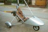 Wózek motolotniowy MOTO-1M. (Źródło: Copyright Bogusław Kuśnierz).