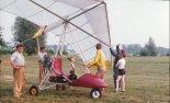 MOTO-2T z silnikiem Buran.  (Źródło: Copyright Bogusław Kuśnierz).
