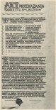 """Akt przekazania samolotu S-1 """"Bożena"""" do Muzeum Lotnictwa i Astronautyki w Krakowie. (Źródło: Modelarz nr 12/1976)."""
