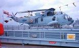 """Śmigłowiec Westland """"Sea King"""" Mk.42B w służbie lotnictwa morskiego Indii. (Źródło: via en.wikipedia)."""