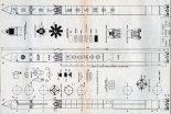 Rakieta nośna Kosmos-2. Plany modelarskie (Źródło: Modelarz nr 6/1977).