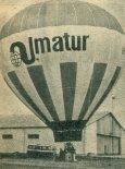 Balon Almatur (SP-BWE). (Źródło: Skrzydlata Polska nr 9/1990).