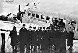 Samoloty pasażerski Junkers Ju-52 Polskich Linii Lotniczych Lot, 1939 r. (Źródło: forum.odkrywca.pl).