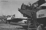 Samoloty Junkers F-13 podczas prac obsługowych. (Źródło: forum.odkrywca.pl).