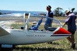"""Szybowiec Grob G103 """"Twin Astir"""" należący do Geelong Gliding Club w Australii. Na szybowcu tym wykonywał loty Jarek Mosiejewski. (Źródło: Copyright Jarek Mosiejewski)."""