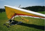 "Lotnia Seedwings Europe ""Merlin 158"" Piotra Adamsa, 2000 r. (Źródło: via Piotrolot)."