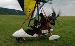 """Wózek Motolotniowy Tomi Aviation """"Cross"""" w motolotni uzywanej w firmie Aerostar. (Źródło: via Aerostar Andrzej Binkowski)."""