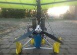 """Wózek motolotniowy """"Dream"""" ze skrzydłem """"Profi 14"""", śmigło. (Źródło: Copyright Dariusz Skórzewski)."""
