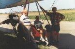 Motolotnia horyzont na I Zlocie Konstrukcji Amatorskiej w Turbi w 1995 r. (Źródło: Jerzy Chodań via Damian Lis).