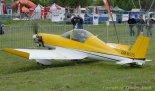 """Samolot Patro- Hummel """"Bird"""" OM-M255. Widok z lewej strony. (Źródło: Copyright Zbigniew Jóźwik - www.airfoto-zj.pl)."""
