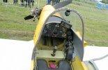 """Samolot Patro- Hummel """"Bird"""" OM-M255. Kabina pilota. (Źródło: Copyright Zbigniew Jóźwik - www.airfoto-zj.pl)."""