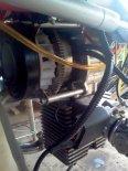 """""""Szerszeń MZ 175"""". Wentylator chłodzący po zdjęciu obudowy cylindra. (Źródło: Copyright Piotr Nowak)."""