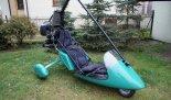 Wózek motolotniowy Ohar z silnikiem Rotax 503. (Źródło: archiwum).
