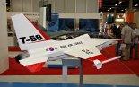 "Model samolotu KAI Lockheed Martin T-50 ""Golden Eagle"" prezentowany na MSPiO 2011 r. (Źródło: Copyright Tomasz Hens)."