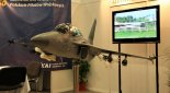 "Model samolotu KAI Lockheed Martin TA-50 ""Golden Eagle"" prezentowany na MSPiO 2011 r. (Źródło: Copyright Tomasz Hens)."