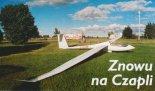 """Szybowiec amatorski """"Egret"""". (Źródło: Przegląd Lotniczy Aviation Revue nr 1/2001)."""
