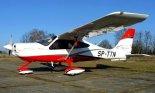 Tecnam P2010 z Ośrodka Szkolenia Lotniczego Bartolini Air już na polskich znakach rejestracyjnych SP-TTN. (Źródło: Copyright Mikołaj Lech).