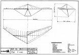 Plan skrzydła motolotni Air Creation XP 15. (Źródło: Wing Type XP 15. Instruction and Maintenance Handbook).