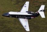 """Samolot treningowy Hawker Siddeley HS.125-2 """"Dominie T.1"""" w służbie Royal Air Force. (Źródło: via """"Wikimedia Commons"""")."""