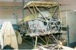 """Kratownica samolotu Bücker T-131 """"Jungmann"""". (Źródło: Przegląd Lotniczy Aviation Revue nr 3/1994)."""