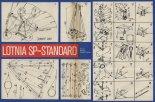 Plany konstrukcyjne lotni SP- Standard. (Źródło: Skrzydlata Polska nr 3/1976).