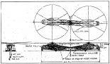 """Piasecki PA-39 MHHLS w pierwszej wersji, złożonej z dwóch śmigłowców Sikorski CH-53D. Pierwszy wariant połączenia- """"tail to tail"""". (Źródło: """"Report 39-X-11 Multiple Helicopter Heavy Lift System Feasibility Study. Final Report"""")."""