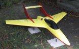 """Imitator celu powietrznego ITWL """"TurboKomar"""" w widoku z przodu. (Źródło: Instytut Techniczny Wojsk Lotniczych)."""
