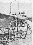 """Przód samolotu """"Ery I"""". (Źródło: Glass A. """"Polskie konstrukcje lotnicze 1893-1939"""")."""