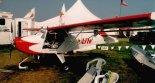 """Samolot SkyStar """"Kitfox Lite 2"""" wyposażony w trójkołowe podwozie z kołem przednim. (Źródło: """"Wikimedia Commons"""")."""
