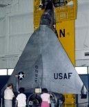 "Samolot Ryan X-13 ""Vertijet"" w zbiorach National Museum of the United States Air Force, Dayton, Ohio. (Źródło: US Air Force)."