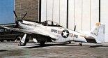 "Samolot North American P-51D ""Mustang"" z Ohio Air National Guard (ANG). Koniec lat 1940- tych. (Źródło: USAF)."