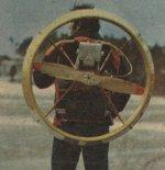 """Zespół napędowy  Motolotni 77/80 """"Kormoran"""". (Źródło: archiwum)."""