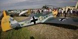 Nielatająca replika samolotu myśliwskiego Classic Planes  Messerschmitt Bf-109UL, zbudowana w 2013 r. we Wrocławiu. (Źródło: archiwum).